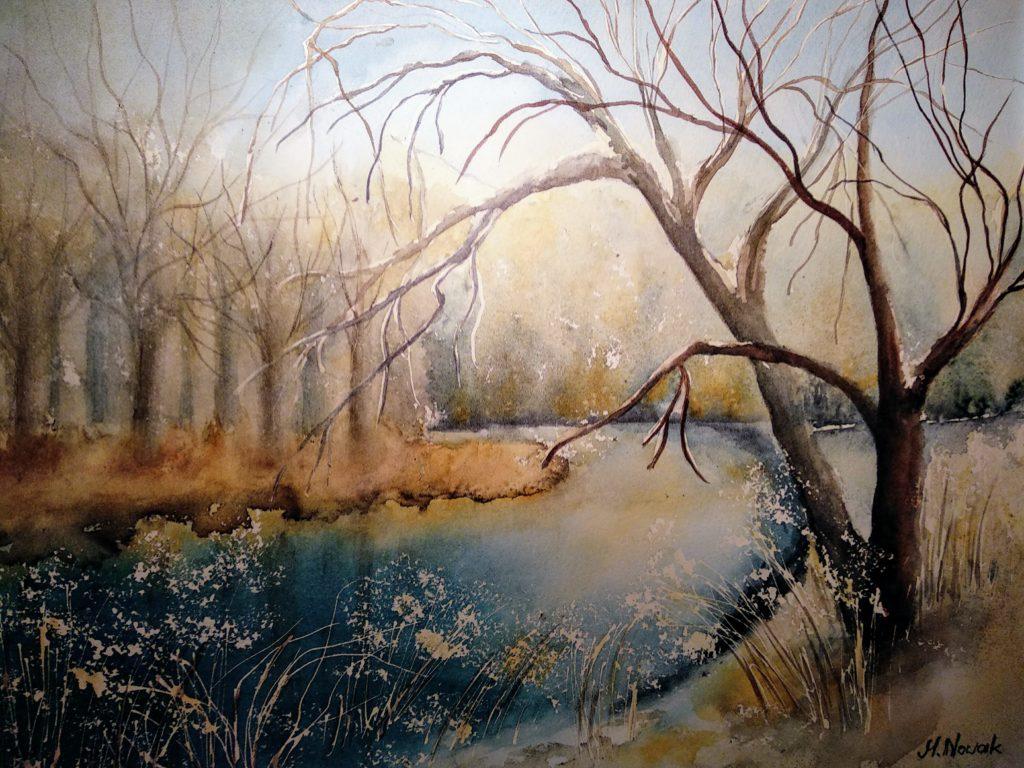 Zimowa rzeka