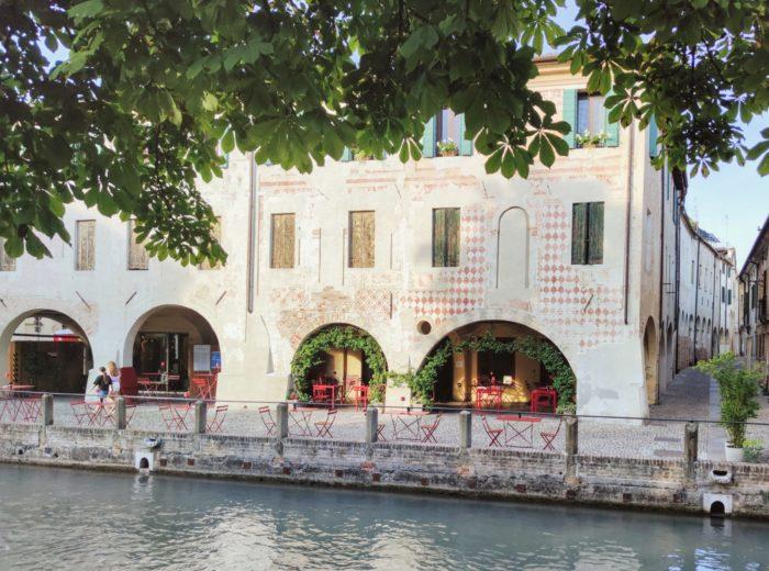 Treviso urok arkad.